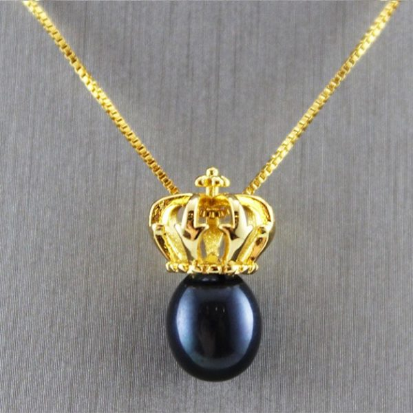Gold Plated Freshwater Pearl Pendant