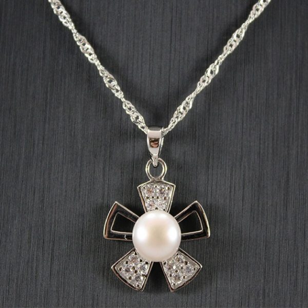 Freshwater Pearl Silver Pendant
