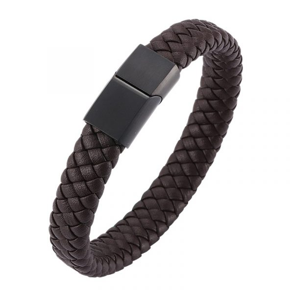 Aaron Leather Bracelet