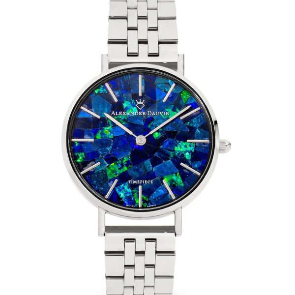Classic Ridge Blue 32mm - Australian Opal Watch