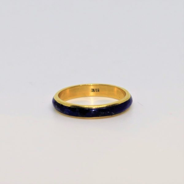 18K GOLD RING ALLIANCE