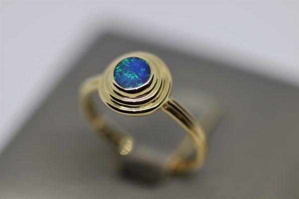 Beautiful 14K Gold Opal Ring