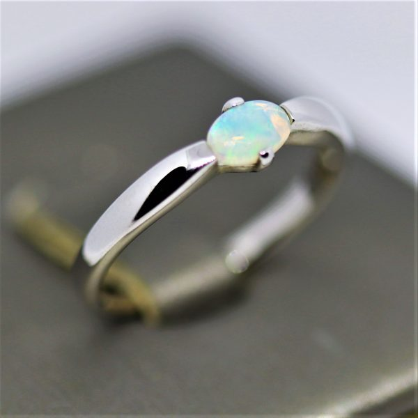 Fine Crystal Opal Ring