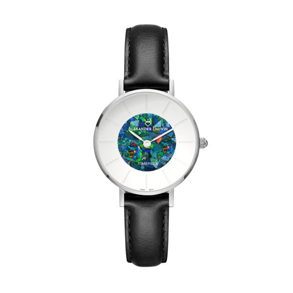 Lumiere Pedy Red Opal Watch - 28mm