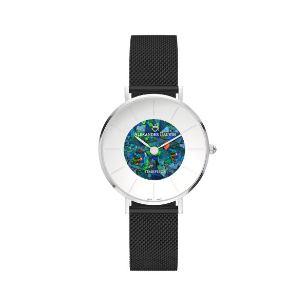 Lumiere Cliff Red Opal Watch - 28mm