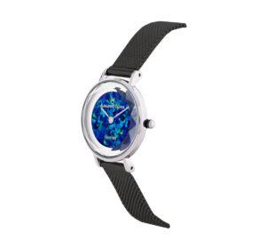 Showy Cliff Blue Opal Watch - 28mm
