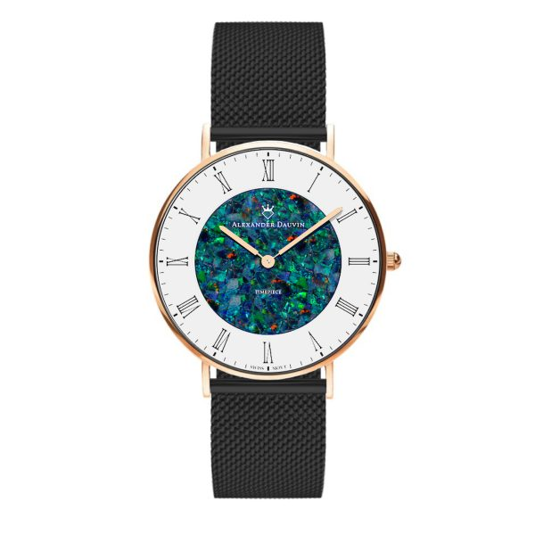 Romano Cliff Red Opal Watch - 36mm