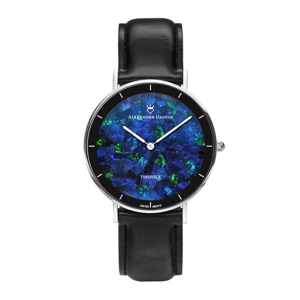 Gatsby Pedy Blue Opal Watch - 36mm