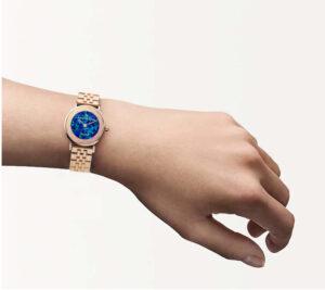 Showy Ridge Blue Opal Watch - 28mm