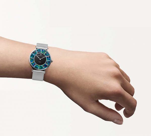 Eclipse Cliff Red Opal Watch - 32mm