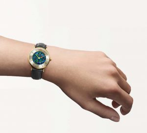 Glamour Pedy Red Opal Watch - 32mm